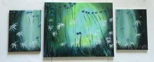 Cornflowers-Daisies-Series