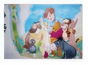 Wall Mural Disney Family