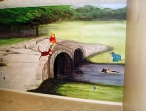 Wall Mural  Daywithpooh